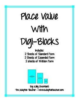 Place Value with Digi-Blocks