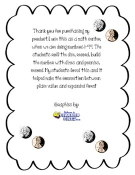 Place Value with Dimes and Pennies