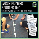 Place Value Sequencing and Comparison Lessons and Activities
