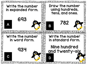 Place Value with Penguins