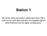 Place Value with Pokemon Go