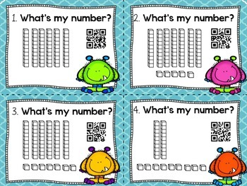 Place Value with QR codes