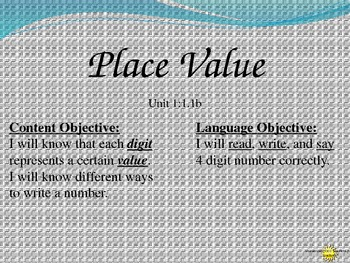 Place Value with Singapore Material
