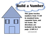 Place Value with Ten Frame, Word,  Expanded, and Standard Form