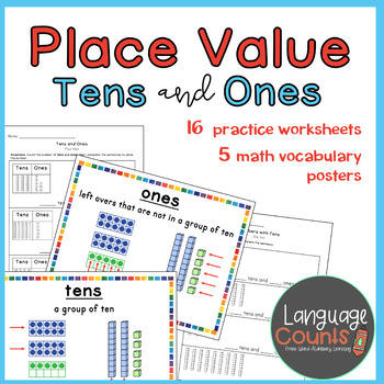 Place Value with Tens and Ones- 1st Grade, enVision 2.0 Topic 8