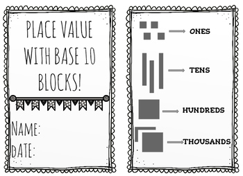 Place Value with base 10 shorthand!