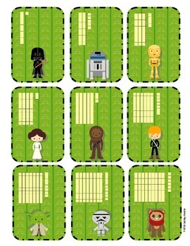 Place Value Top It Game Numbers 1-120 -May the 10s and1s Be With You