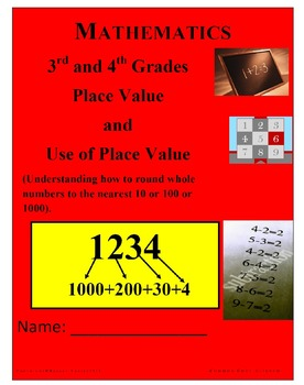 Place Value/Use of Place Value/Rounding to nearest 10, 100, 1000+Answers
