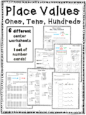 Place Values: Ones, Tens, Hundreds