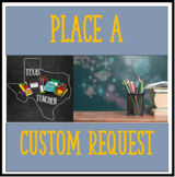 Place a Custom Product Request