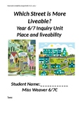 Place and Liveability- Which Street is More Liveable?