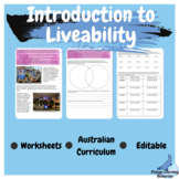 Place and Liveability Year 7 Geography Editable Worksheets