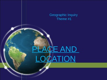 Place and Location Introduction Powerpoint