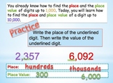 Place and Value to the Ten Thousands Place