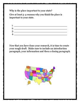 Place in Your State Essay