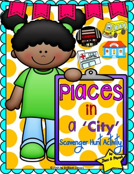 Places in a City Scavenger Hunt Activity