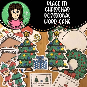 Place it! Christmas Positional Word Game