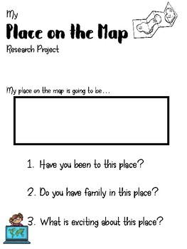 Place on the Map Research Project