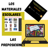 Place prepositions and School Supplies