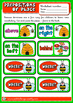 Place prepositions - dominoes