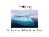 Place to Chill and Be Alone: Iceberg