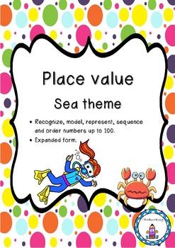 Place value-Sea theme