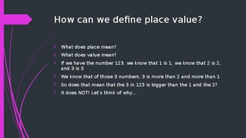 Place value in mathematical operations