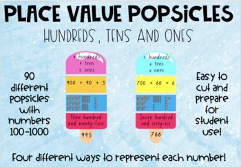 Place value popsicles