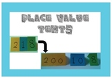Place Value Tents