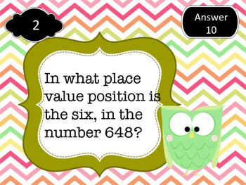 Place value word problem search