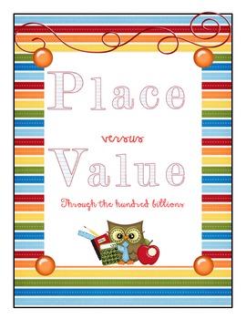 Place vs Value through the hundred billions