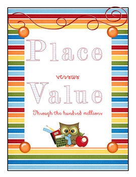 Place vs Value through the hundred millions