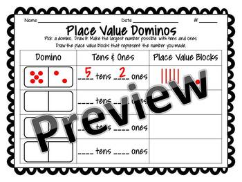 Place Value Dominos