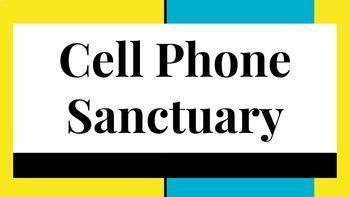Cell Phone Sanctuary Placeholder cards