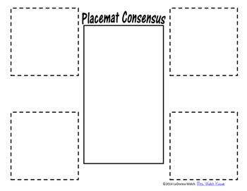 Placemat Consensus