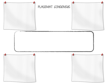 Placemat Consensus Student Sheet