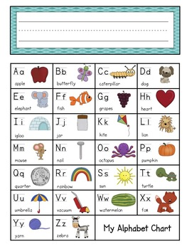 Placemat Nameplate Replacement for Primary Grades - Great for Tables