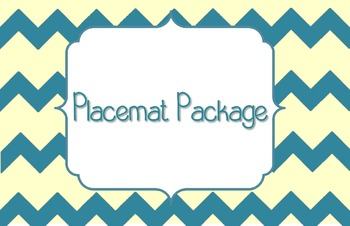 Placemat Package