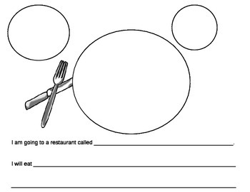 Placemat Writing Prompt