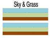 Sky Grass Ground