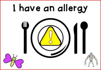 Placemats for Allergies