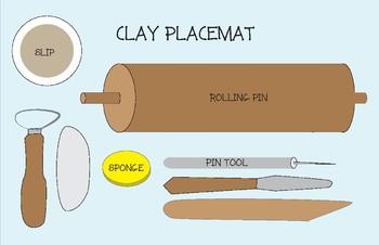 Placemats for Art Class: Bundle of Eight Mats