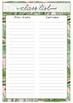 Placement Planner-Journal (Up to 40 days)