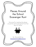 Places Around the School Scavenger Hunt