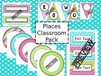 Places Classroom Pack