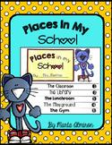Places In My School Flipbook and Activities