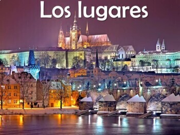 places los lugares power point in spanish 54 slides tpt