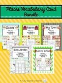 Places Vocabulary Card Bundle