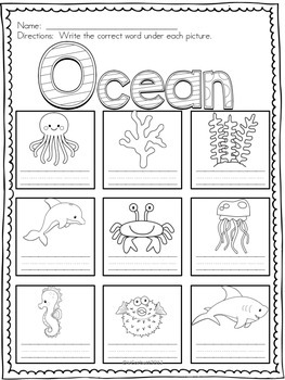 Places Vocabulary Card Bundle