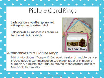 Places We Go: Picture Ring Kit for Community Locations